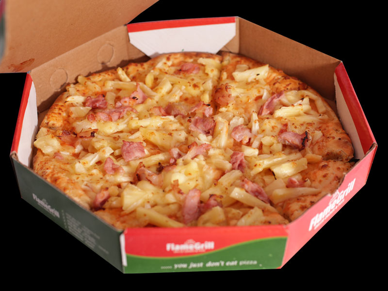 Flame Grill - Hawaiian Pizza